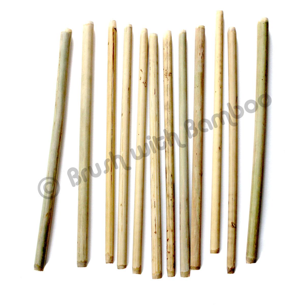 Bamboo Drinking Straws 12-Pack