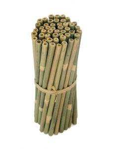 25 Bamboo Straws