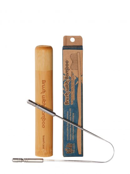 kids oral care set by Brush with Bamboo