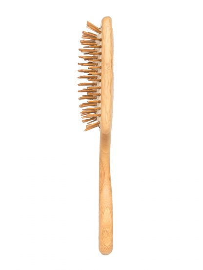 Side image of bamboo brush by Brush with Bamboo