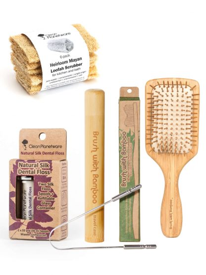 Daily Hygiene Set by Brush with Bamboo