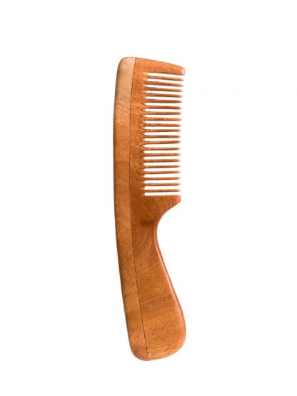 pure need wood hair comb by Brush with Bamboo