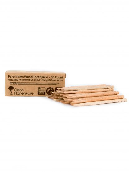 neem toothpicks by Brush with Bamboo