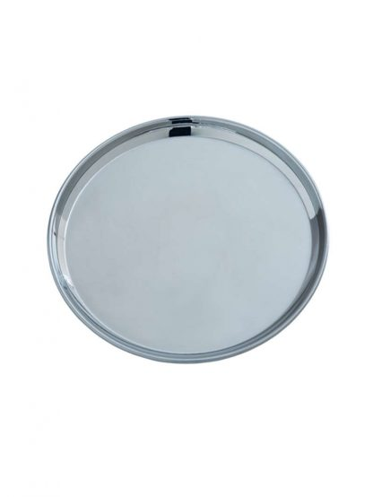 stainless steel salad plate by Brush with Bamboo