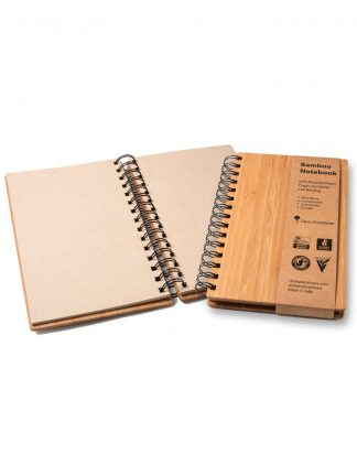 bamboo notebook by Brush with Bamboo